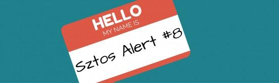 Sztos Alert #8-blog